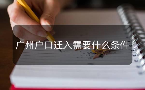 2020年,广州户口迁入需要什么条件?_广州米兔入户咨询